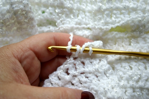 half double crochet method